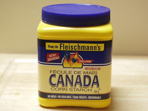 cornstarch-tub