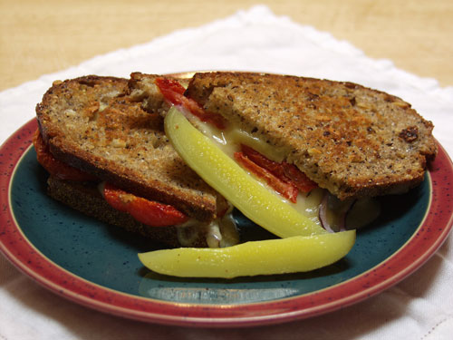 Sunday Lunch – Grilled Cheese w/ Roasted Jalapeno Mayo