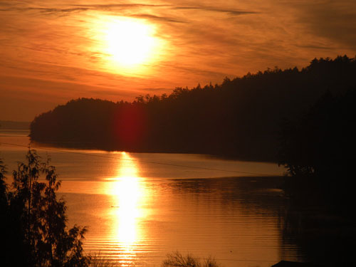 ender island sunrise