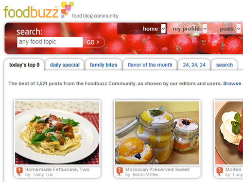 Foodbuzz Top 9 - February 10, 2010